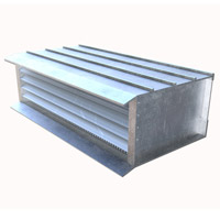 "Extruded Aluminum Brick Vents - Style ""E"""