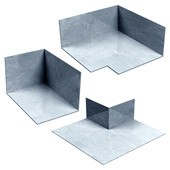 Corners & End Dams - Stainless Steel