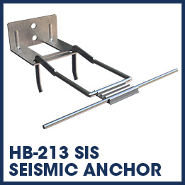 hb-213 sis seismic anchor