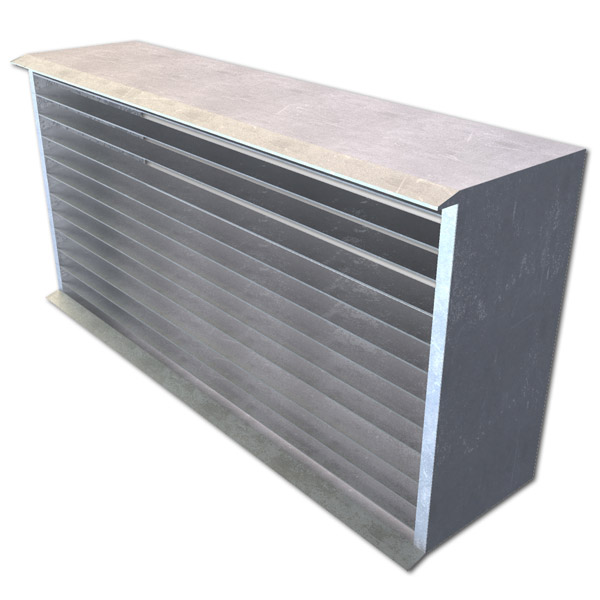 "Cast Aluminum Brick Vents - Style ""CA"" - Click Image to Close"