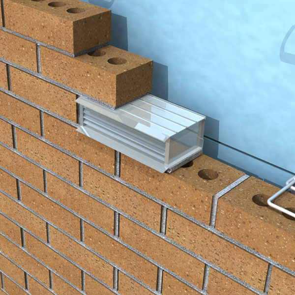 "Extruded Aluminum Brick Vents - Style ""E"" - Click Image to Close"