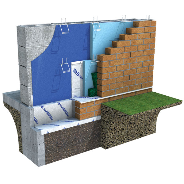 Air Barrier Membrane : Enviro barrier™ air vapor barrier hohmann barnard
