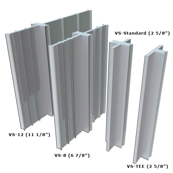 Vs series pvc control joint