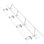 165 Adjustable Truss Seismiclip® Interlock System