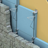 Tie-HVR-195VB Anchor System for Rubble Stone