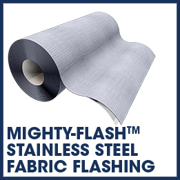 mighty-flash stainless steel flashing